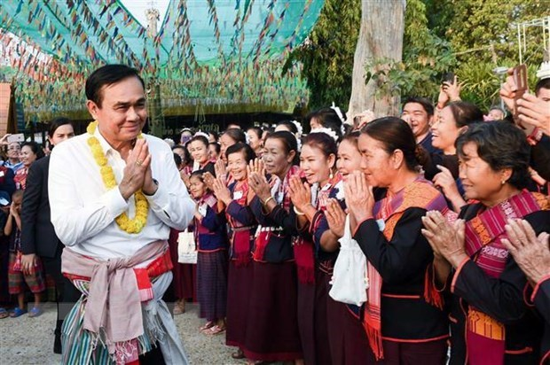 Thai PM qualified to go ahead with election hinh anh 1