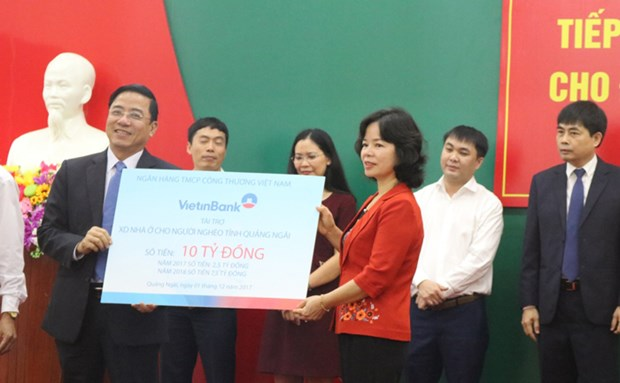 VietinBank builds 150 charity houses in Quang Ngai hinh anh 1