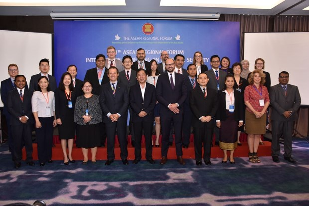 ARF inter-sessional meeting on maritime security concludes hinh anh 1