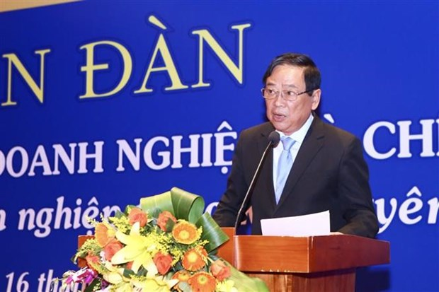 Forum discusses press - businesses ties in CPTTP era hinh anh 1