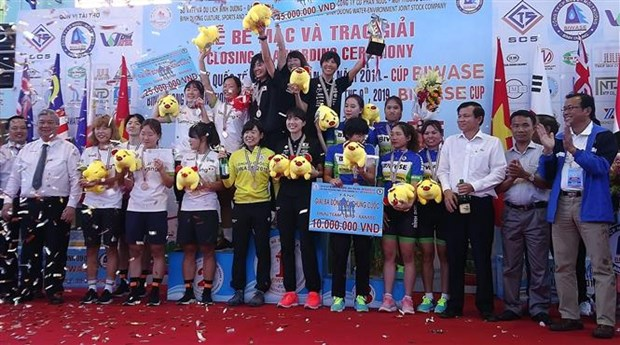 Int'l women's cycling tourney in Binh Duong wraps up hinh anh 1