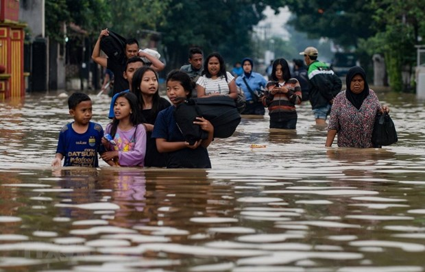 At least 42 people killed by flash flood in eastern Indonesia hinh anh 1