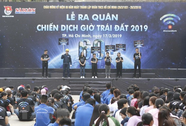 Earth Hour campaign starts in Ho Chi Minh City hinh anh 1