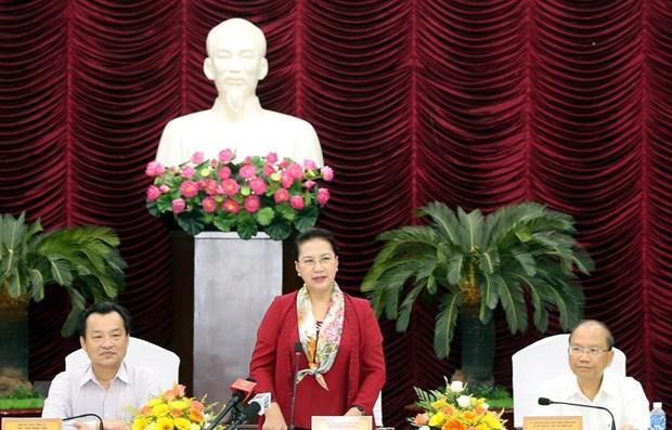 NA Chairwoman reviews Binh Thuan's socio-economic development hinh anh 1