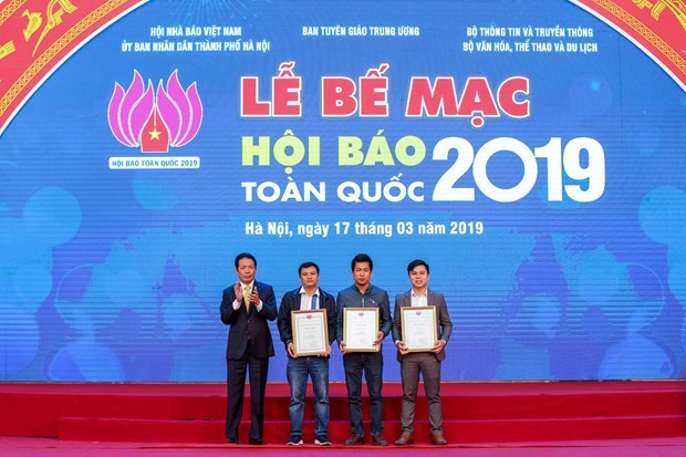 National Press Festival 2019 wraps up hinh anh 1