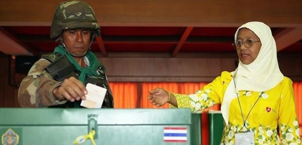 Thailand: early voting kicks off hinh anh 1