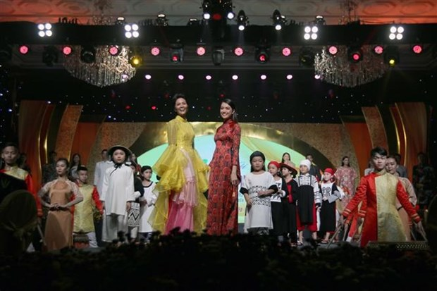 Ao Dai Festival in HCM City wraps up hinh anh 1
