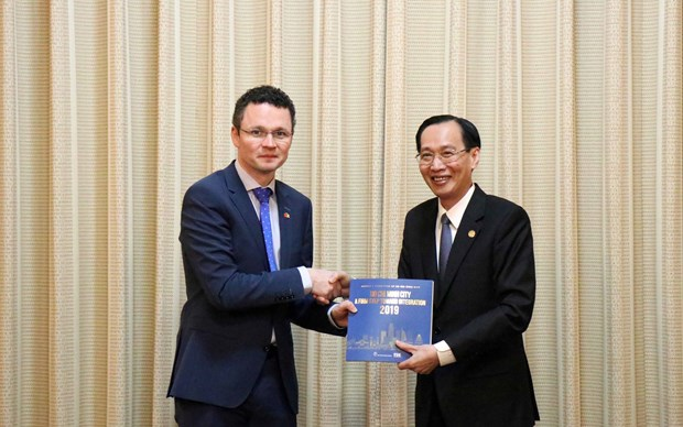 HCM City, Ireland to boost cooperation in education, health hinh anh 1