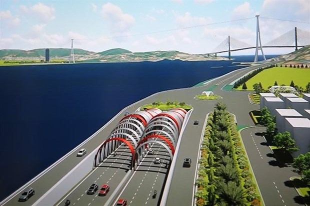 Quang Ninh plans country's largest under-sea tunnel hinh anh 1