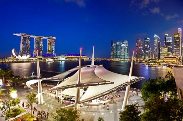 Singapore exports bounce back in February hinh anh 1