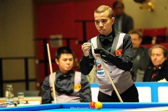 Vietnam lose to Netherlands in world billiards quarterfinals hinh anh 1