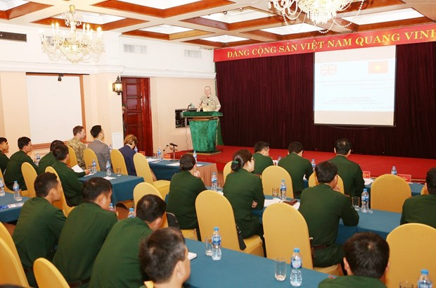 Vietnam, UK share experience in sexual violence prevention in peacekeeping hinh anh 1