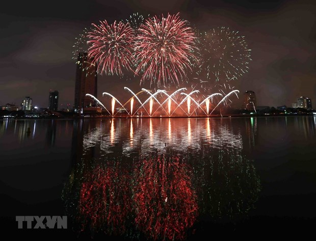 Da Nang int'l fireworks festival to open in June hinh anh 1
