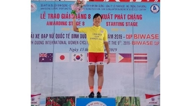 Japanese cyclist wins int'l women's cycling tournament hinh anh 1