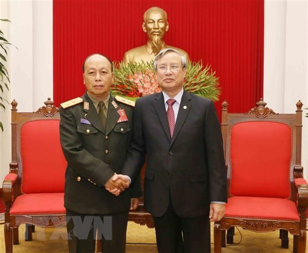 Party official: Vietnam will do best to foster ties with Laos hinh anh 1
