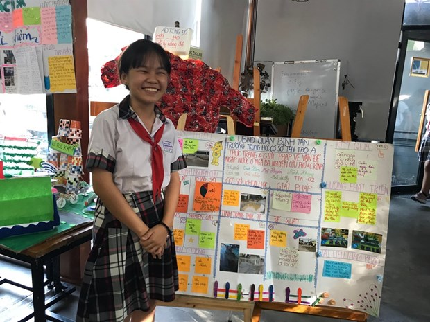 Science contests attract more and more school students hinh anh 1