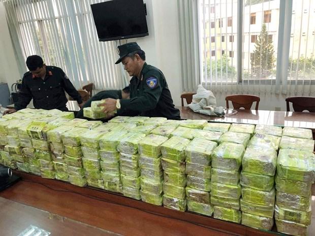 Major drug trafficking ring busted, 300kg of drugs seized hinh anh 1