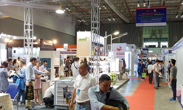 Green energy, electrical equipment exhibitions to return to HCM City hinh anh 1