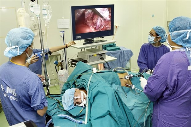 First split liver transplant successfully performed in Hanoi hinh anh 1