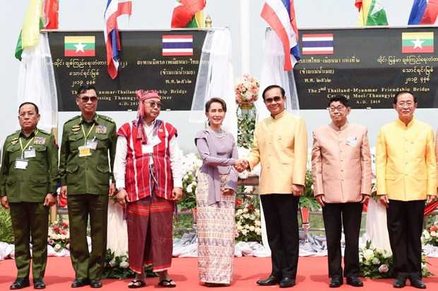 Second Thai–Myanmar Friendship Bridge open to traffic hinh anh 1