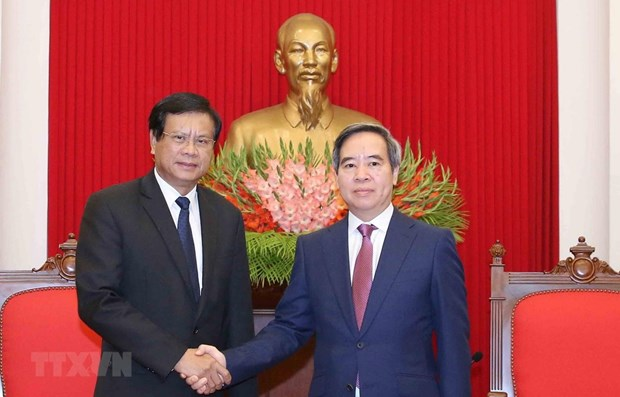 Vietnam, Laos hold great potential for cooperation: Party official hinh anh 1