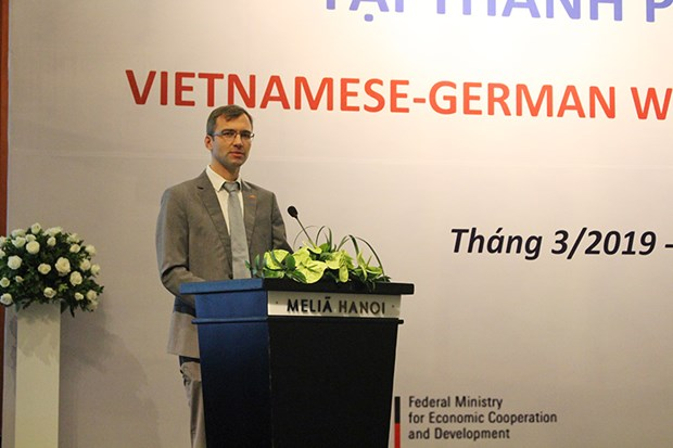 Vietnam, Germany discuss business linkages in water sector hinh anh 1