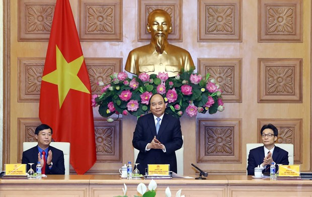 PM encourages youths to promote voluntary role in national matters hinh anh 1
