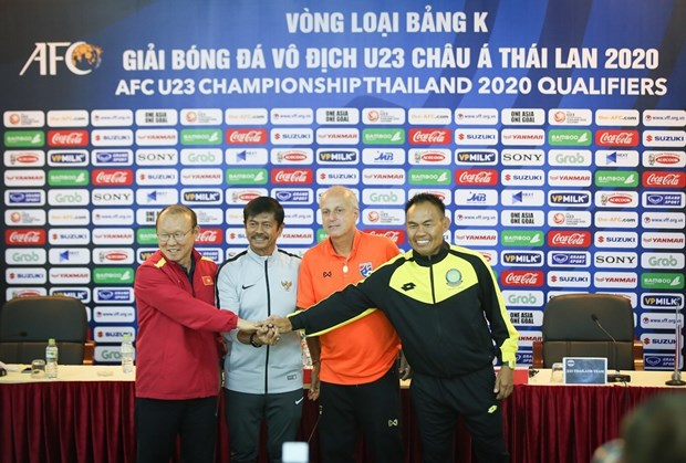 All teams in Group K ready for AFC U23 qualifiers hinh anh 1
