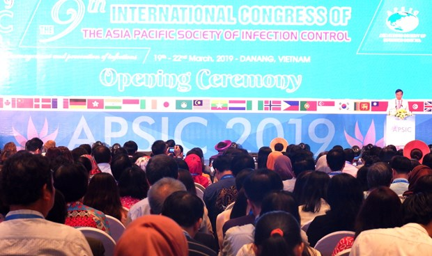 Asia-Pacific countries share infection control experience in Da Nang hinh anh 1