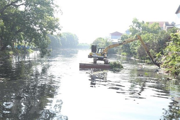 Hanoi's irrigation system polluted with wastewater hinh anh 1