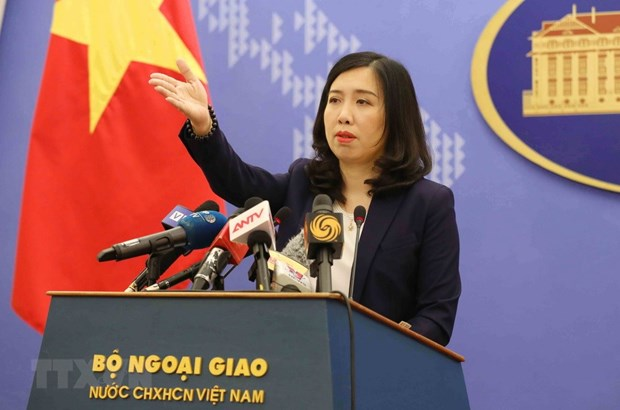 Vietnam opposes Taiwan's live-fire drill around Ba Binh Island hinh anh 1