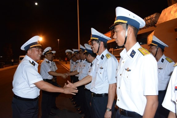 Vietnamese naval ship leaves for LIMA 2019, Myanmar visit hinh anh 1