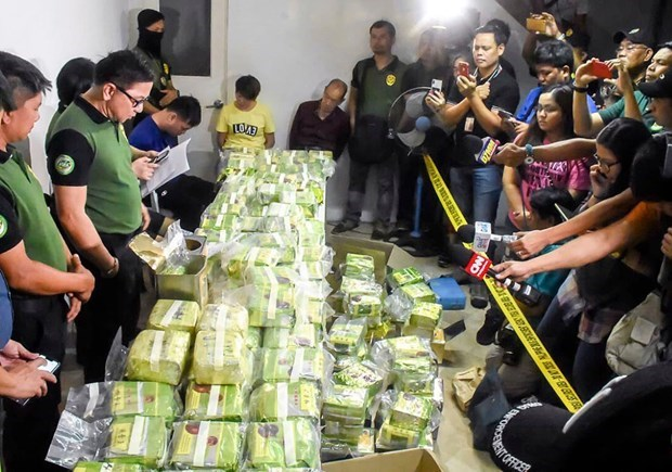 Thai police seize drugs worth 25 million USD hinh anh 1