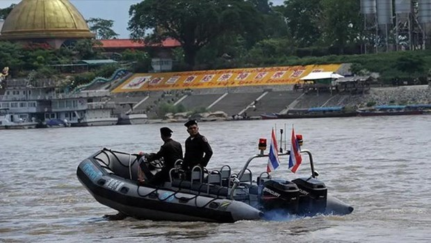 80th Mekong River joint patrol concludes hinh anh 1