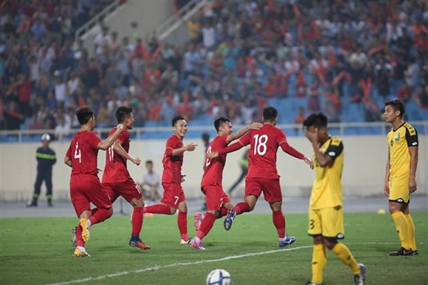 Vietnam have good start at 2020 AFC U23 Championship hinh anh 1
