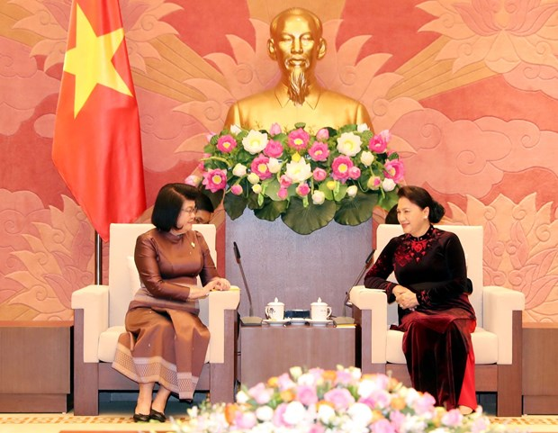 Top legislator welcomes Cambodia's NA Second Vice President hinh anh 1