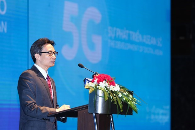 Deputy PM: Developing 5G important to ASEAN nations hinh anh 1