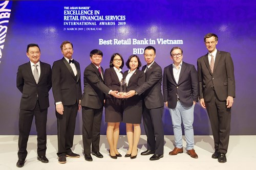 BIDV named as Best Retail Bank in Vietnam for five consecutive years hinh anh 1