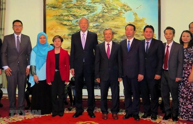 Singaporean Deputy PM visits Thua Thien-Hue hinh anh 1