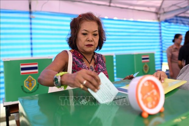 Thailand votes in general election hinh anh 1