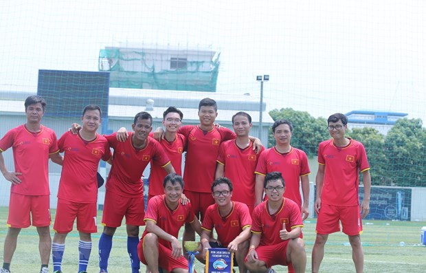 Vietnam win Mekong – Lancang friendly futsal tournament 2019 hinh anh 1