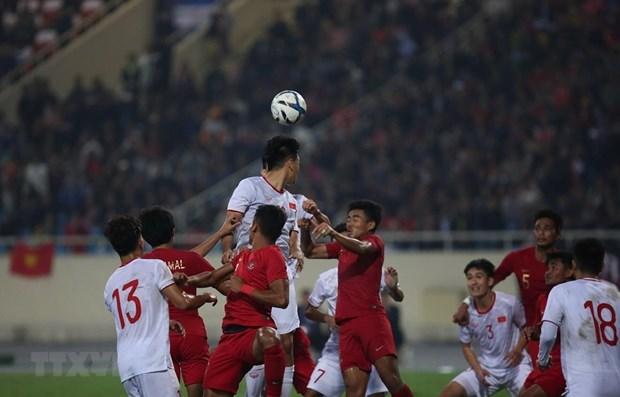 Vietnam beat Indonesia 1-0 in AFC U23 qualifier hinh anh 1