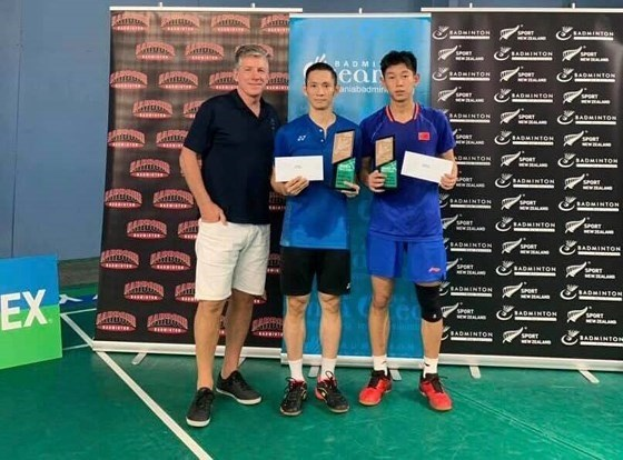 Vietnamese player wins badminton tournament in New Zealand hinh anh 1