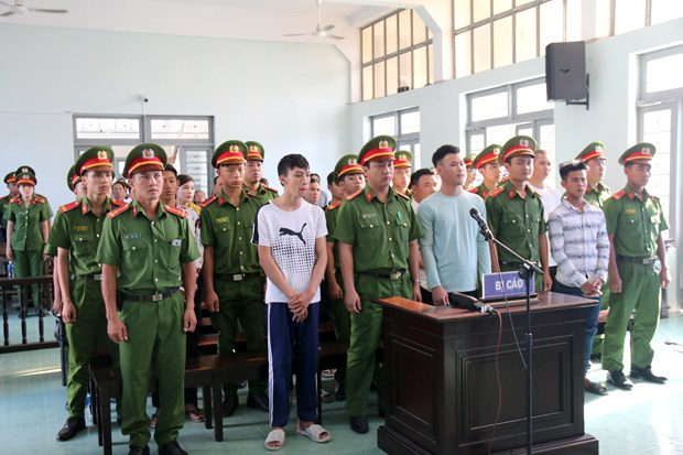 Sentences upheld for 13 rioters in Binh Thuan hinh anh 1