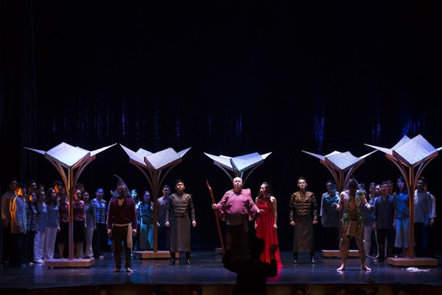 Mozart's The Magic Flute returns to HCM City Opera House hinh anh 1
