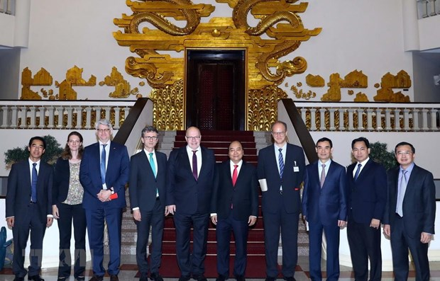 Vietnam looks to expand cooperation with Germany hinh anh 1