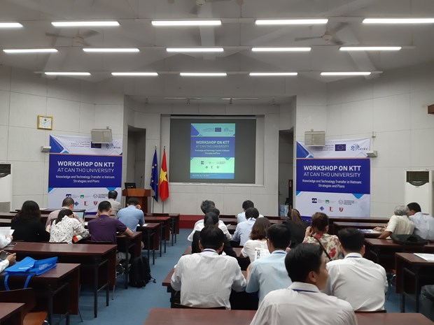 Workshop discusses European technology, knowledge transfer hinh anh 1