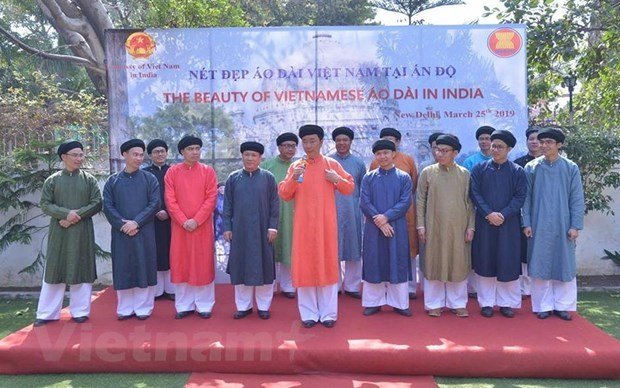 Vietnamese traditional costume introduced in India hinh anh 1