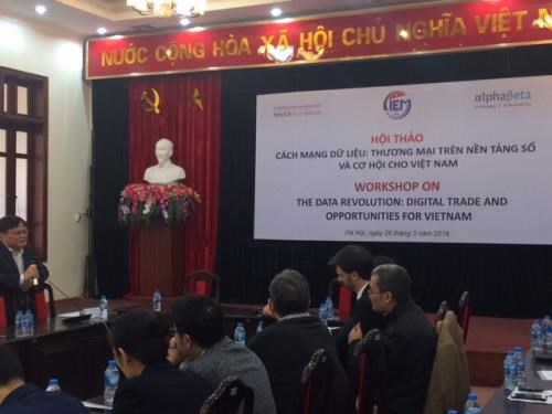 Digital trade and opportunities for Vietnam discussed hinh anh 1