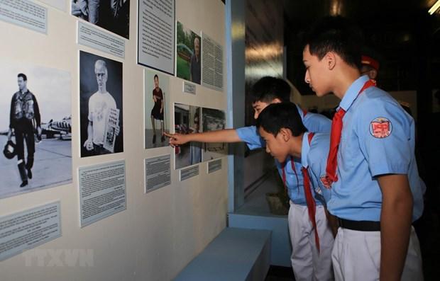 Exhibition spotlights US unjust war in Vietnam hinh anh 1